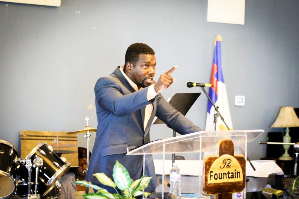 Senior Pastor Daouda Traore